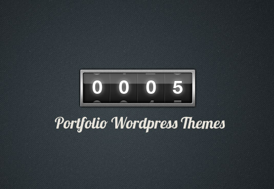 5 Themeforest Premium Portfolio WordPress Themes