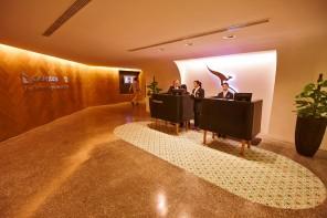 Qantas Singapore Lounge, Changi Airport